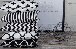 Poszewka na poduszkę B&W scandi- 5 wzorów