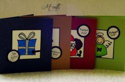 Wesołe Święta...Komplet 4 kartek