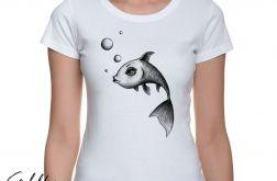 Ryba - t-shirt damski - różne kolory
