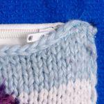 SWS TOREBKI Duża, modna torebka na zimę - Zbliżenie kieszonki zewnętrznej