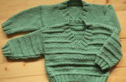 Sweterki dla bliżniaków - kpl