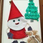 Kartka świąteczna z Mikołajem - kartka na Boże Narodzenie