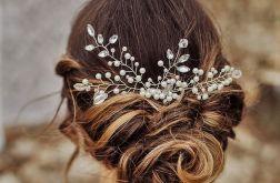 Ozdoba ślubna do włosów grzebyk FIRELLA