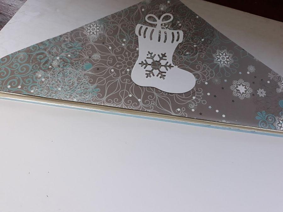Kartka, kopertówka świąteczna
