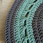 Dywan na szydełku dywan ze sznurka DS02