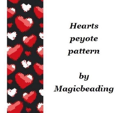 Schemat na bransoletkę peyote
