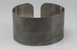 Łuska - metalowa bransoleta 190111-05