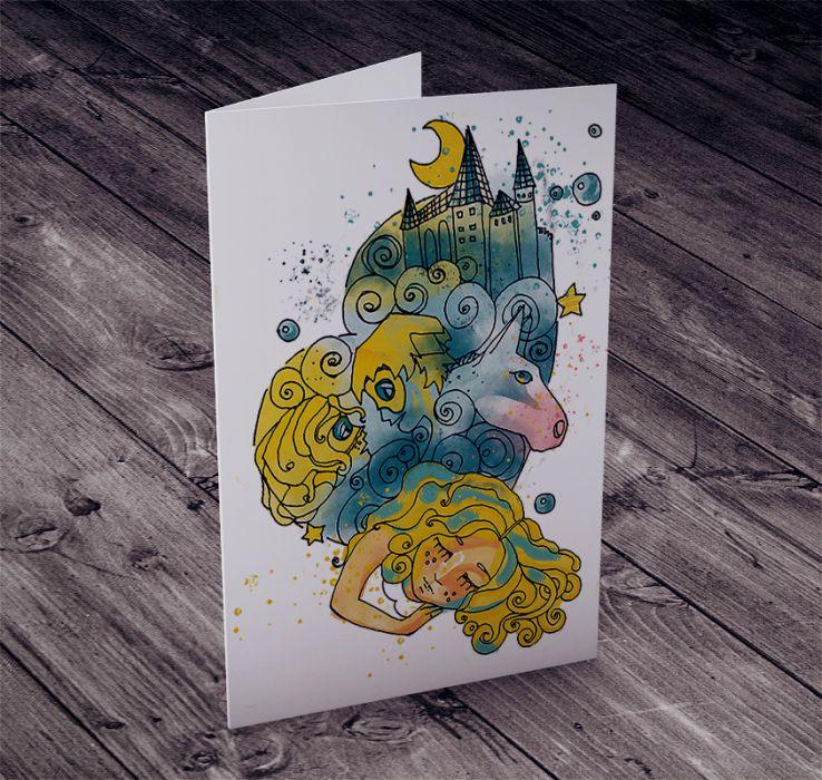 Karteczka Urodzinowa dla Dziewczynki
