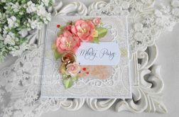Ślubna kartka w pudełku 53