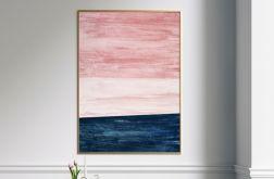 Plakat różowy horyzont 50x70 cm