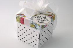 Pudełko na ślub Witraż 2