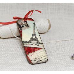 Zakładka do książki ~Paryż~ 2