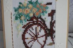 Kartka okazjonalna- Na rowerze