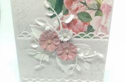Piękna Kartka Ślubna