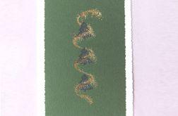 Zielona kartka świąteczna - 1
