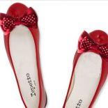 red dots - ozdoby do butów