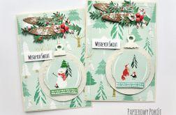 Zestaw kartek Cukierkowe Święta