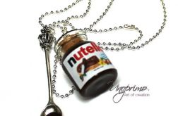 Naszyjnik Nutella z łyżeczką