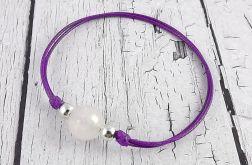 Bransoletka Summer Breeze - Jade in Purple