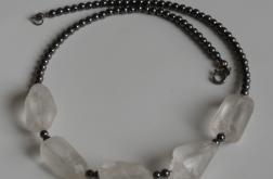 Kryształy i hematyt