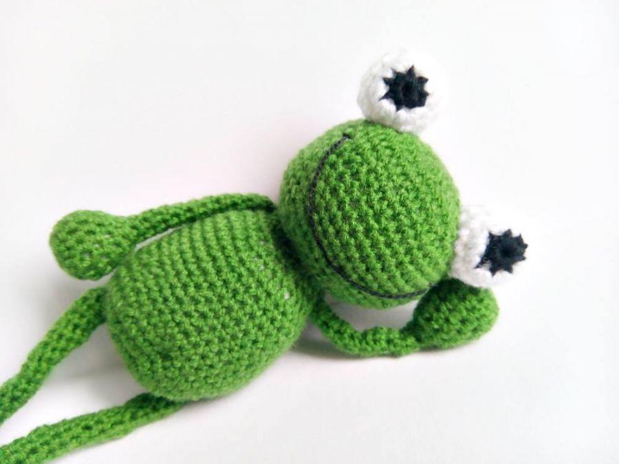 Zielona żabka Karolina