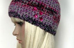 Melanż kolorów - ciepła czapka