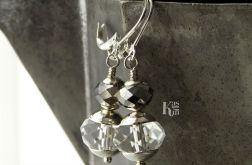 Norma - kolczyki z kryształami
