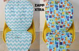 Dwustronny materacyk do Quinny Zapp Xtra