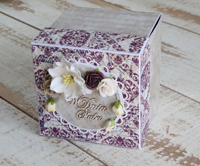 Romantyczny exploding box tort3