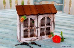 Pudełko na klucze, domek, prezent