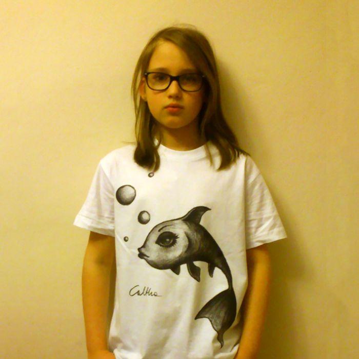 Wietrzna - t-shirt 2-14 lat (różne kolory)