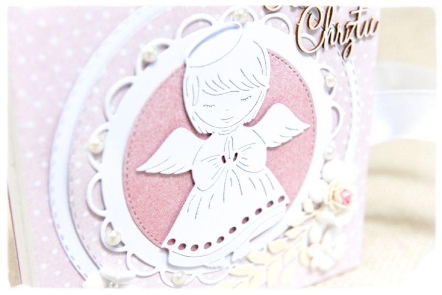 Pamiątka Chrztu Świętego, Aniołek dziewczynka
