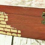 różana herbaciarka/szkatułka