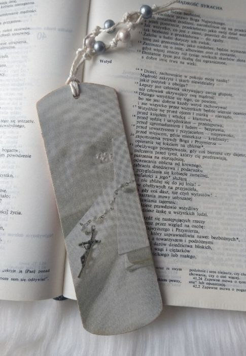 pamiątka Pierwszej Komunii Św. zakładka - detale