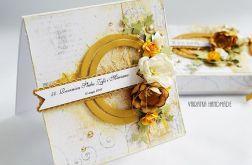 Złote Gody - kartka w pudełku