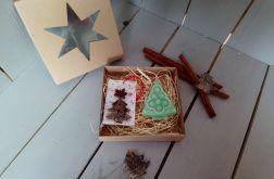 Zestaw świąteczny z mini mydełkiem