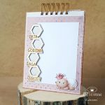Album biurkowy - pierwszy rok życia dziecka