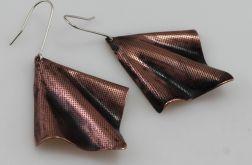 Chusteczki - miedziane kolczyki 180413-03