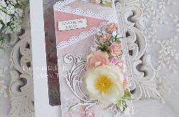 Imieninowa kartka kaskadowa w pudełku 211