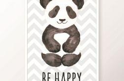 Plakat / BE HAPPY
