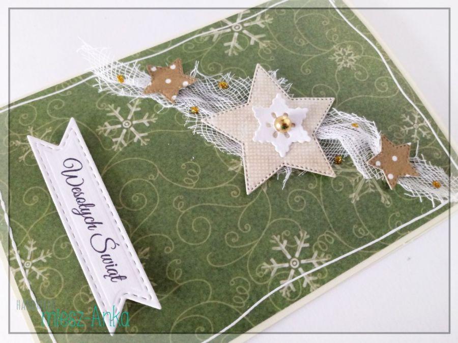 Wyjątkowe KARTKI ŚWIĄTECZNE - 7 - Boże Narodzenie, bożonarodzeniowe, święta