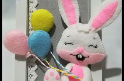 Filcowy króliczek w ramce