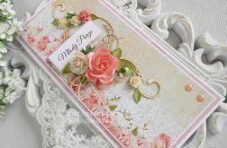 Ślubna kartka DL w pudełku z okienkiem 29