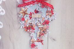 Zawieszka, bombka świąteczna, dekoracja sopel