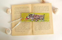 zakładka do książki - pies - nr 2