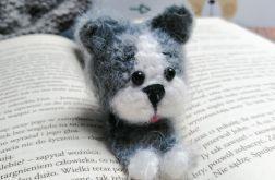 Szydełkowa zakładka do książek - Kot I