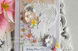 Ślubna kartka w pudełku 03