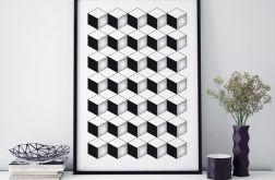 Plakat abstrakcja pattern-1 50X70 B2
