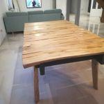 Stół drewniany czereśniowy