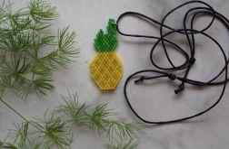 Naszyjnik ananas.